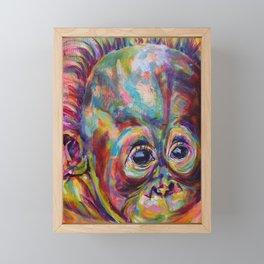 Everyone needs a hug Framed Mini Art Print