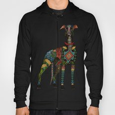 greyhound ivory Hoody