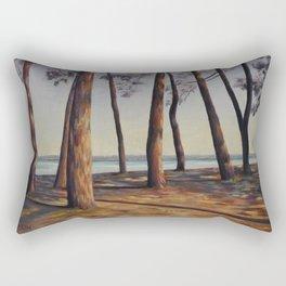 Ombres de pins Rectangular Pillow