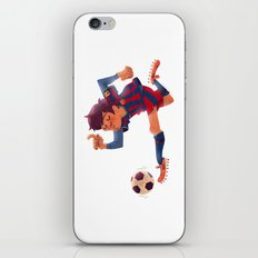 Lionel Messi, Barcelona Jersey iPhone & iPod Skin