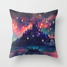 The Lights Throw Pillow
