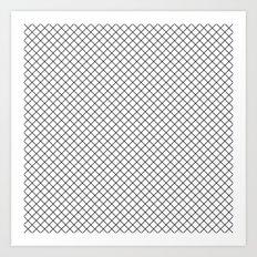 Grid 01 Art Print