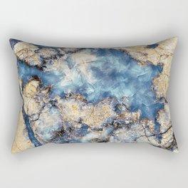 Crystal Marble Rectangular Pillow