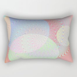 Re-Created Twisters No. 2 by Robert S. Lee Rectangular Pillow