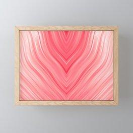 stripes wave pattern 3 dri Framed Mini Art Print