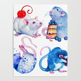 Sweet Rats Poster