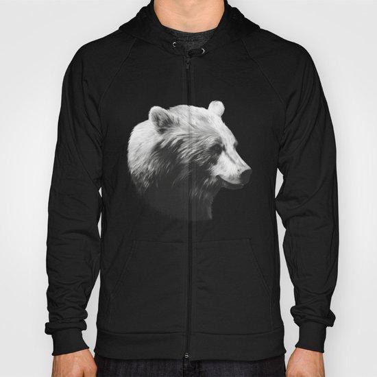 Bear // Calm (Black + White) Hoody