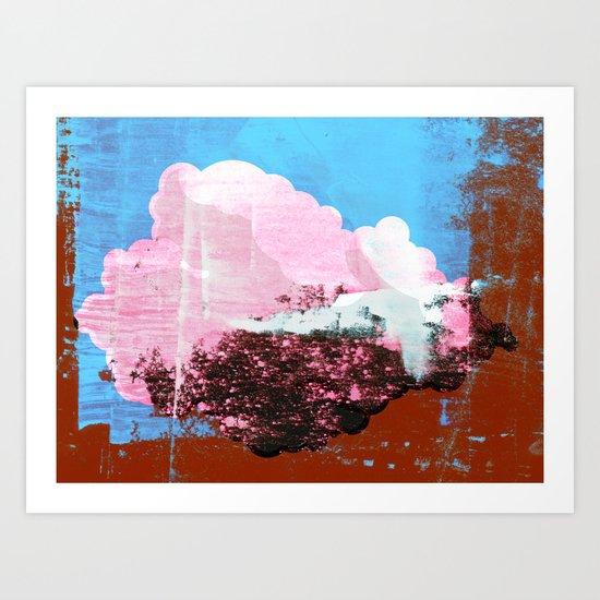 Cloud Graphic #1 Art Print