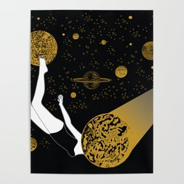 meteor crash Poster