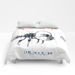idiotfish (wally schnalle edition) Comforters