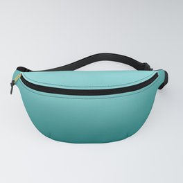 Quetzal Green Ombre Gradient Pattern Fanny Pack