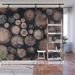 Wooden Wall Mural