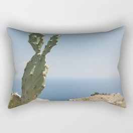 View from a panoramic point in Sicily Rectangular Pillow