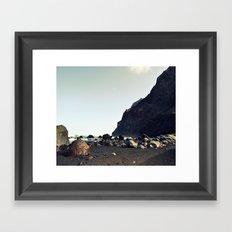 stones rocks Framed Art Print