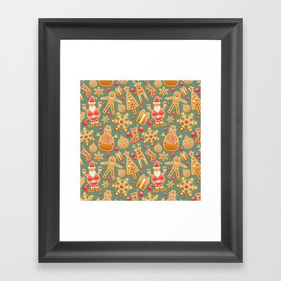 merry Christmas 5 Framed Art Print
