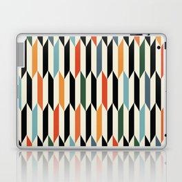 MCC Oddities III - Mid Century Modern Geometric Abstract Pattern - Red Orange Blue Green Black Laptop & iPad Skin