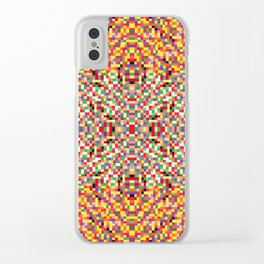 pixelpixels Clear iPhone Case