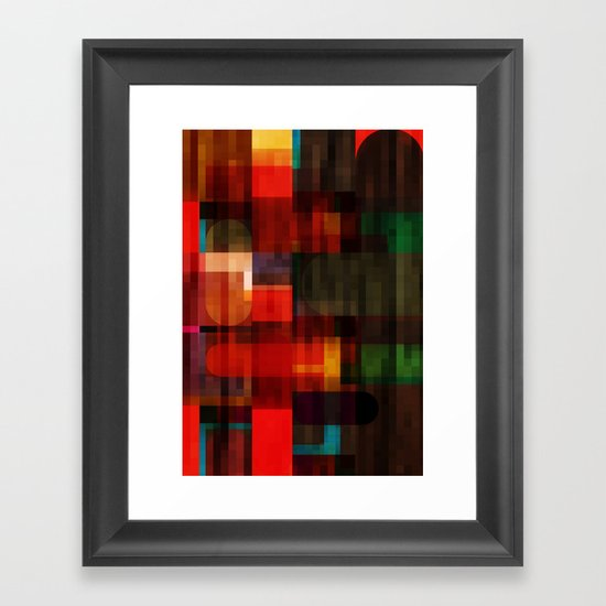Abstract 11 Framed Art Print