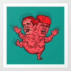 The GOP's 2-Headed Monster Art Print