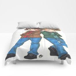 Supernatura Sam and Dean Winchester Comforters