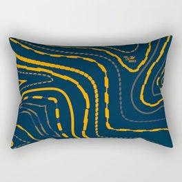 The Pathways of Life Rectangular Pillow