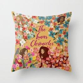 The Lunar Series Throw Pillow