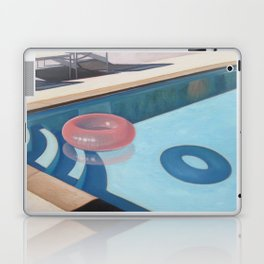 Pink Pool Inner Tube Laptop & iPad Skin