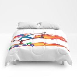 Fox Skater Comforters