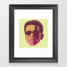 I LL BE BACK Framed Art Print