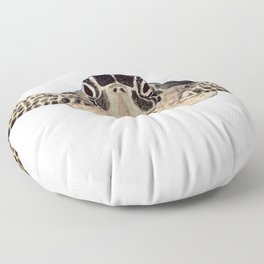 tortue marine Floor Pillow