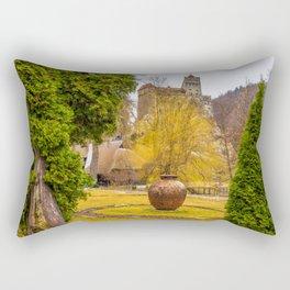 Castelul Bran Rectangular Pillow