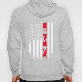 Patriotic Fmx Player - Flag Hoody