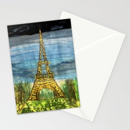 La Paris, oui oui Stationery Cards