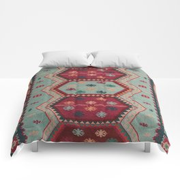V31 Traditional Colored Moroccan Carpet. Comforters