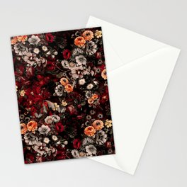 Night Garden Lava Stationery Cards