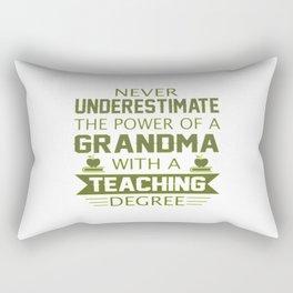 Grandma Teacher Rectangular Pillow
