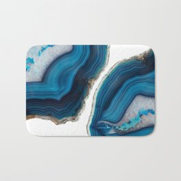 Blue Agate Bath Mat