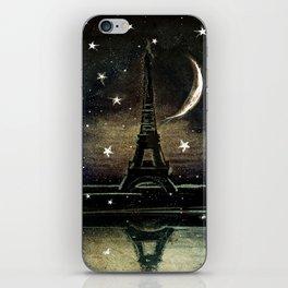 Paris Midnight iPhone Skin
