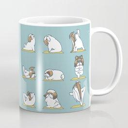 Shih Tzu Yoga Coffee Mug