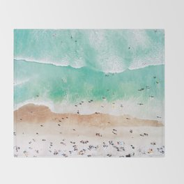 Beach Mood Throw Blanket