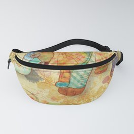 Patchwork Elephant Fanny Pack