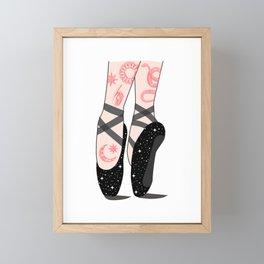Space Dance Framed Mini Art Print