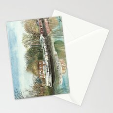 Rosa on the Grand Union Canal Stationery Cards