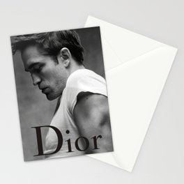 Robert Pattinson poster Stationery Cards
