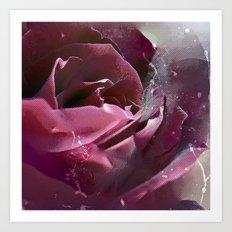 Pop Rose (3) Art Print