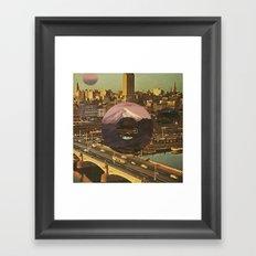 City Transport Framed Art Print