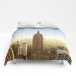 New York City Sunshine Comforters