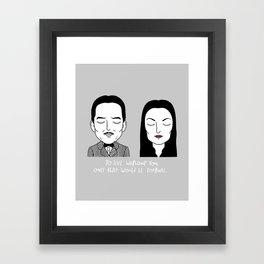 G & M Framed Art Print