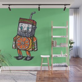 Paper toy juicy Wall Mural