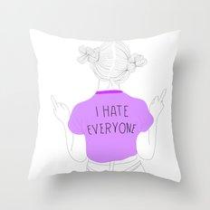 everyone Throw Pillow